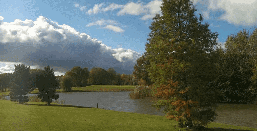Purmerend in herfstkleuren
