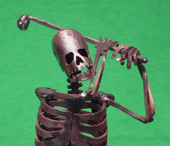 Golfend skelet